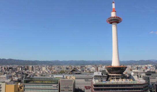 京都タワーと周辺