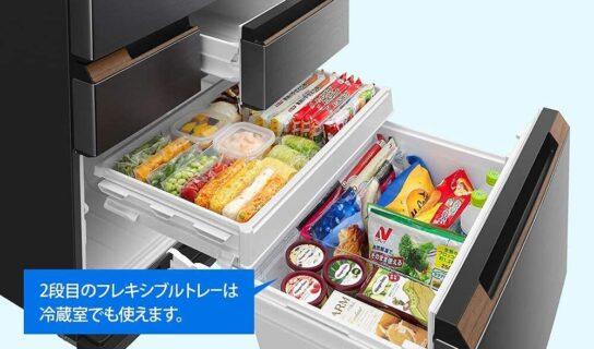 シャープ冷蔵庫 SJ-MW46HとSJ-MF46H